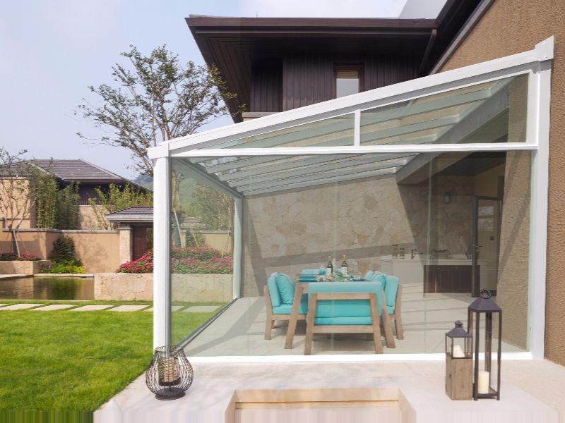 Glass Room Lancashire Simplicity Alfresco 1