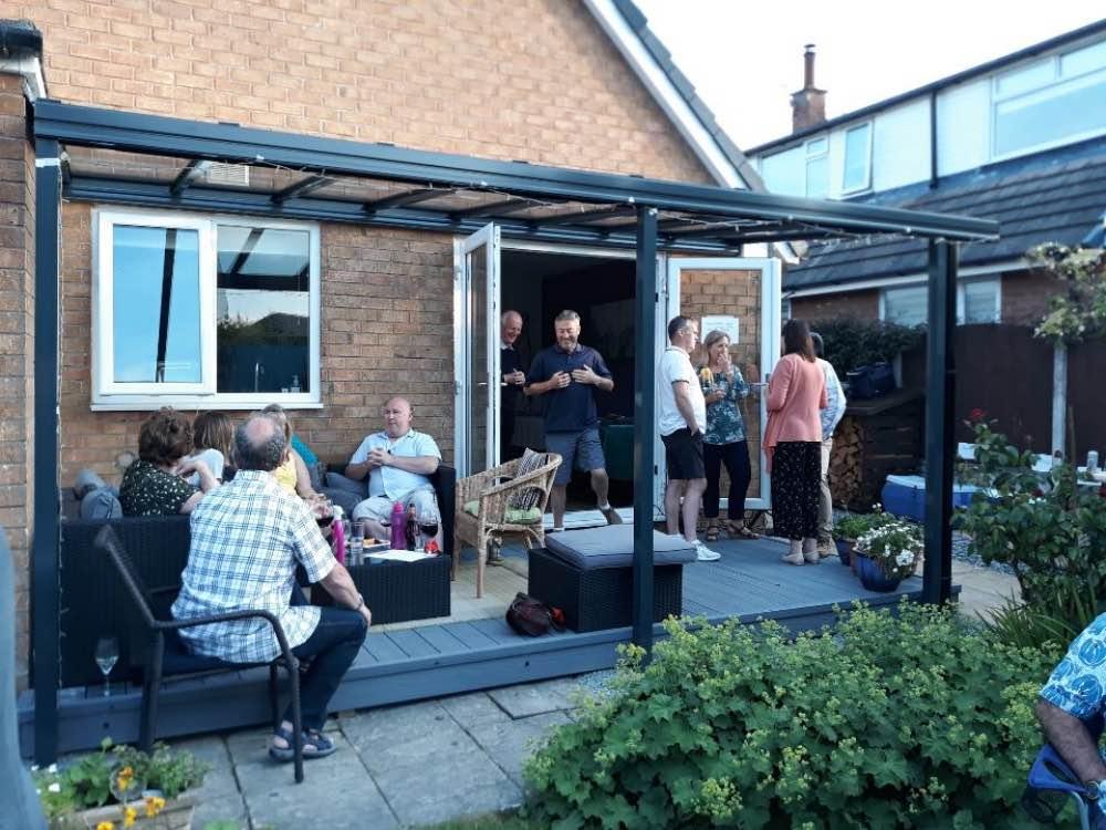 Garden Veranda: Hatfield, Hertfordshire