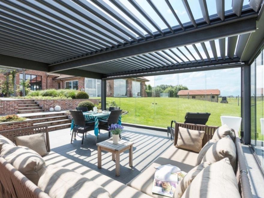 Bioclimatic Garden Pergolas | Blackburn Lancashire | Lifestyle Canopies